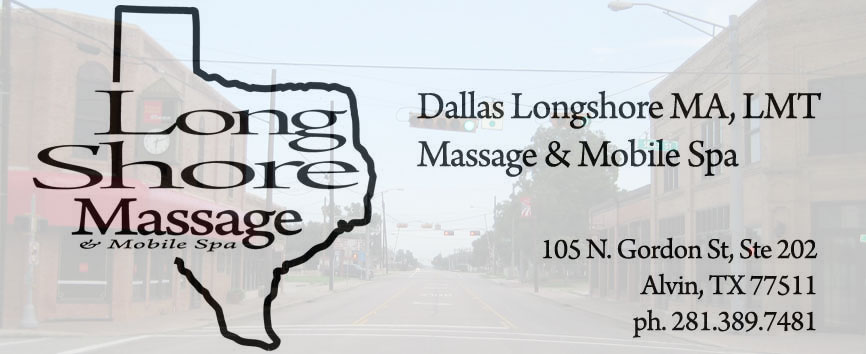 massage in Alvin, TX with Longhsore Massage